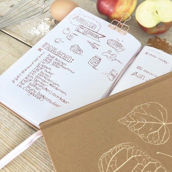 recepten opschrijfboek