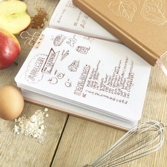 kookboek met eigen recepten