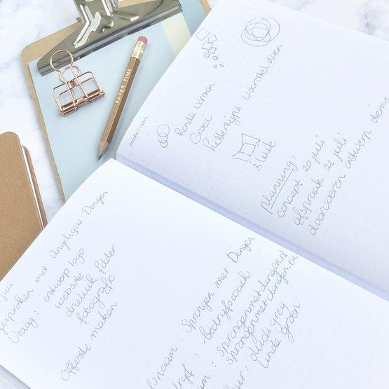 Klanten notitieboek