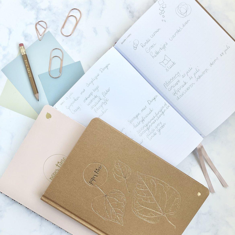 Paper Time blog - Afsprakenboek - Klantenboek