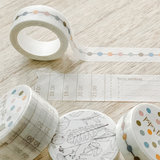 Set Paper Time washi tape _