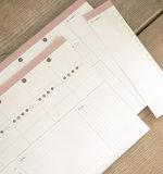 Bureaublok met to-do lijstje_