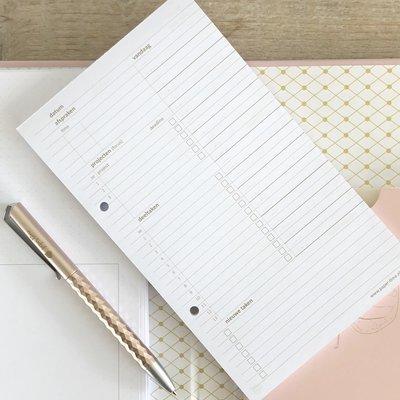 Navulling dagplanning Werkplanner