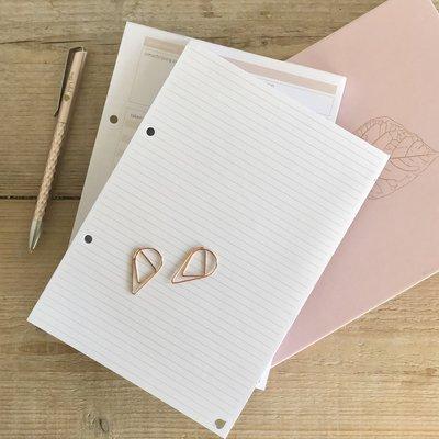 Navulling notitievellen Werkplanner en Groenplanner