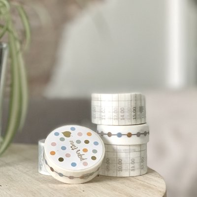 Set Paper Time washi tape
