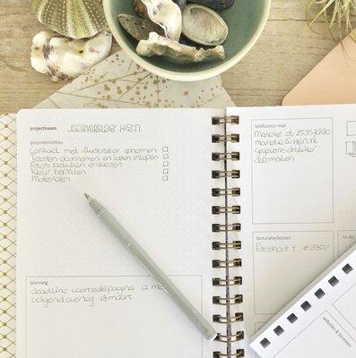 Navulling projectplanning