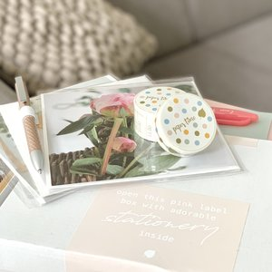 Sweet & happy Paper Time Stationery Giftbox